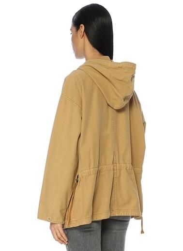 Free People Kapüşonlu Ceket Sarı